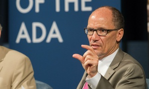 Secretary of Labor Thomas Perez hosts a panel discussion highlighting the Americans with Disabilities Act in July.