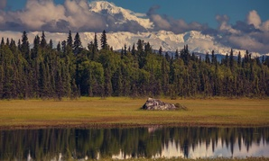 Mount Denali in Alaska.