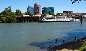 Sacramento, California on the Sacramento River.