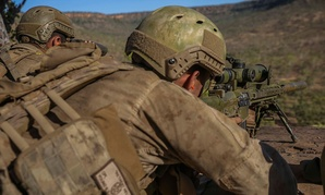 Marines participate in a training session in July.