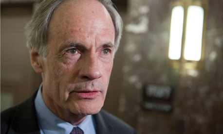 "Sen. Tom Carper, D-Del., says, ""The way to a good regulatory process is to write clear legislation."""