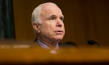 """We want to give the military the ability to plan ahead, rather than having to lurch from one year to another and from one [continuing resolution] to another,"" said McCain."