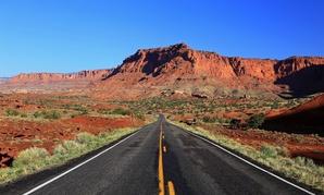 A Utah highway.