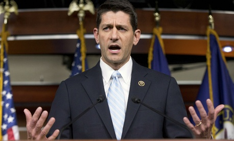"Republicans ""need to move from an op­pos­i­tion party to be­ing a pro­pos­i­tion party,"" said Rep. Paul Ryan."
