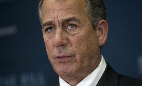 Boehner is slated to retire Friday.