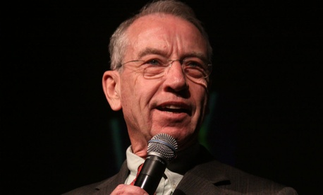 "Sen. Charles Grassley, R-Iowa, said VA's previous explanations of the department's use of paid leave were ""explanations on use of paid leave that ""were largely vague, incomplete or incoherent."""