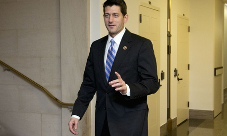 Rep. Paul Ryan, R-Wis., said he will continue to see his three children on weekends if he is speaker.