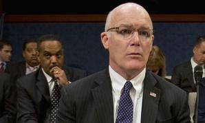 Secret Service Director Joseph Clancy testifies before a joint House-Senate panel Tuesday.