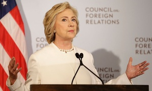 Clinton spoke at the Council on Foreign Relations in New York on Thursday.