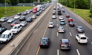 Interstate 95 in Connecticut, a state that has authorized driver's licenses for unauthorized immigrants.