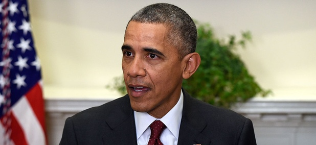 Obama spoke at the White House Wednesday.