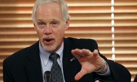 Sen. Ron Johnson, R-Wis., joined three other Republicans in making the request.