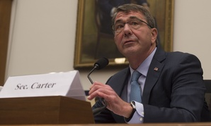 Secretary of Defense Ash Carter testifies before the House Armed Services Committee Tuesday.