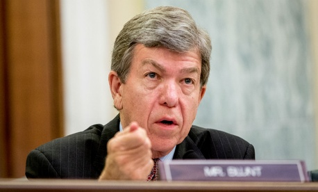 Sen. Roy Blunt, Mo., is one of two Republicans who have signed on as co-sponsors of the bill.