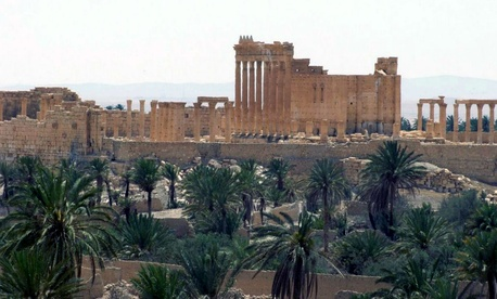 Summit comes six months after ISIS destroyed two famous ancient shrines in Palmyra, Syria.