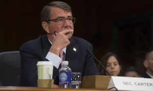 Carter testified on the Hill Wednesday.