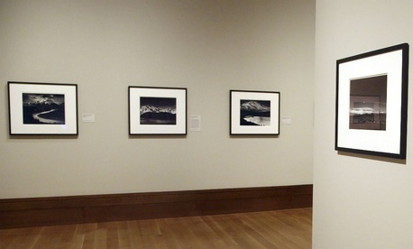 Ansel Adams photographs on display at the J. Paul Getty Museum in Los Angeles in 2014.