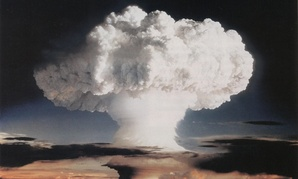 """The first successful test of a hydrogen bomb was codenamed """"Ivy Mike"""" in 1952 in the Marshall Islands."""