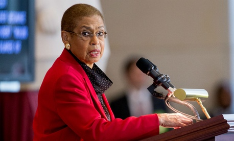 Del. Eleanor Holmes Norton, D-D.C., said it was a mistake to apply provisions designed for VA executives to the rest of government.