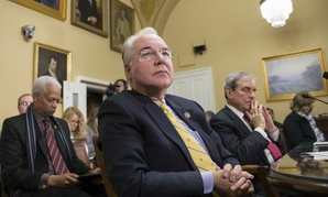 Rep. Tom Price, R-Ga., chairman of the House Budget Committee and a physician, appears before the Rules Committee Jan. 5.