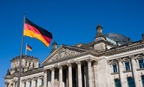 The Reichstag is a popular German landmark in Berlin.