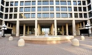 Labor Department headquarters in Washington.