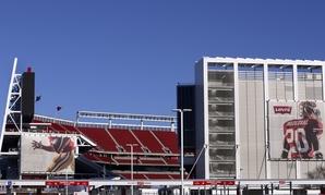 Levi's Stadium, where Super Bowl 50 will be played, in Santa Clara, California.