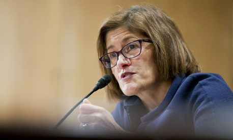 At her confirmation hearing Thursday, Beth Cobert said she would strengthen the agency's cybersecurity and information technology systems.