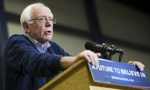 Democratic presidential candidate Sen. Bernie Sanders makes a campaign stop in Portsmouth, N.H.