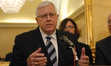 Sen. Mike Enzi in a 2011 photo.