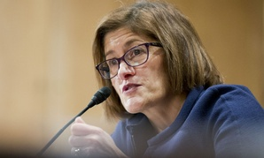 Beth Cobert testifies at her confirmation hearing.