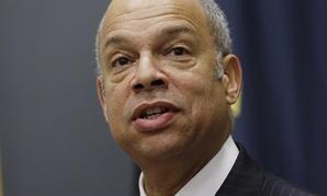Secretary of Homeland Security Jeh Johnson