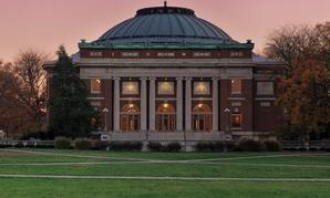 University of Illinois auditorium