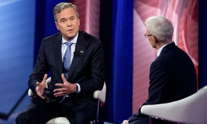 Republican presidential candidate Jeb Bush speaks at the CNN town hall at the University of South Carolina on Feb. 18.