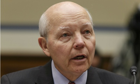 "IRS chief John Koskinen said, ""We spend so much time in government defending ourselves."""