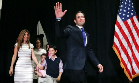 Republican Marco Rubio ends his presidential campaign.