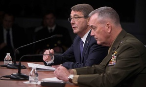 Secretary of Defense Ash Carter and Chairman of the Joint Chiefs of Staff Gen. Joseph Dunford speak to press Friday.