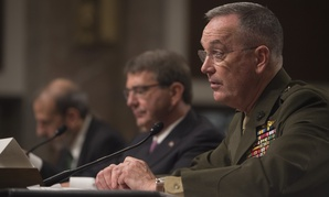 Gen. Joseph Dunford testified before the Senate Armed Services Committee earlier this month.