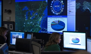 The National Cybersecurity and Communications Integration Center in Arlington, Va.