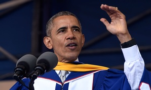 Obama spoke at Howard Univesity's graduation May 7.