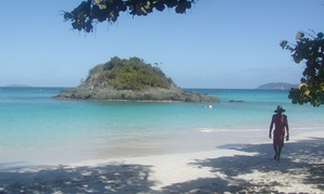 Trunk Bay, part of the Virgin Islands National Park. The park was established through donations from the Rockefeller family, Jarvis noted in a letter to the Post.