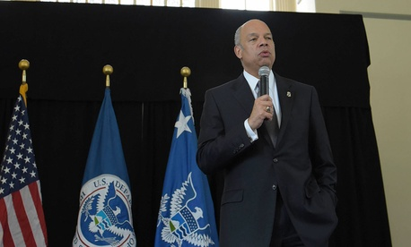 """""""These awardees responded selflessly in extraordinary circumstances to help others in need, and I am honored to thank them today on behalf of this proud Department,"""" said DHS Secretary Jeh Johnson."""