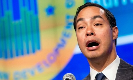 HUD Secretary Julian Castro said the department jumped at the chance to work with Toyota.