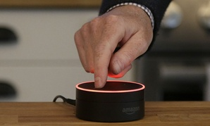 Amazon's Echo Dot is designed to amplify the role that its voice-controlled assistant Alexa plays in people's homes and lives.