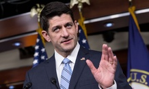 Ryan spoke with reporters Thursday.