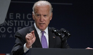 Vice President Joe Biden speaks at the American Constitution Society for Law and Policy 2016 National Convention, Thursday, June 9, 2016, in Washington.