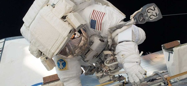 Ron Garan participated in four spacewalks.