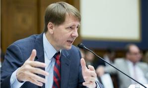 Consumer Financial Protection Bureau Director Richard Cordray testifies on the Hill.