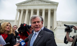 Former Virginia Gov. Bob McDonnell after his conviction was overturned.