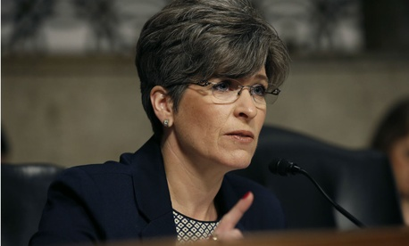 "Sen. Joni Ernst, R-Iowa, expressed concern about White House teams promulgating a flurry of last-minute ""midnight regulations"" without sufficient review."